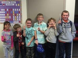 Character Counts Students 9/18 Alana, Malachi, Parker, Austin, Miles & Wyatt